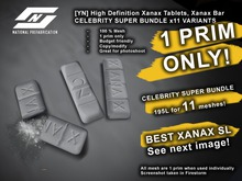 ![YN] Xanax Tablet, Xanax bar designer 1 prim CELEBRITY BUNDLE