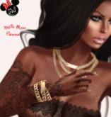 .:.MS.:. Gold Bracelet 100% Mesh