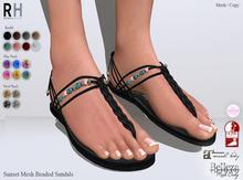 !Rebel Hope - Sunset Mesh Sandals  Rebel Pack