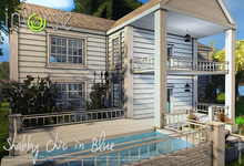 inVerse® MESH - SHABBY CHIC IN BLUE_full furnished  mesh house