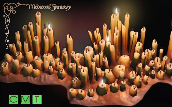 [MF] Mesh bunch of magic candles FULL PERMISSIONS (boxed)
