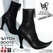 Wicca's wardrobe   witch boots %28black black%29 vendor