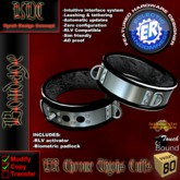KDC/ER Chrome Thighs Cuffs