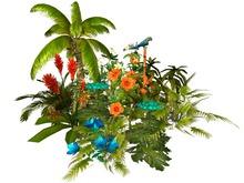 MSD - Tropical Cylindrical Garden - Afia (14 LI) M/T