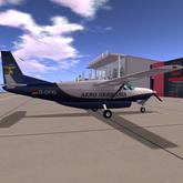 Paint Kit for Dani - Airplanes Grand Caravan Aero Germania Theme