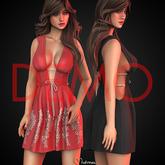 UPDATED [DEMO] Mutresse - Hana Dress - 18 Colors for Maitreya/Legacy/Belleza/Slink