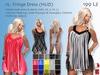 -JL- Fringe Dress (HUD) for Maitreya, Slink (all), Classic and more