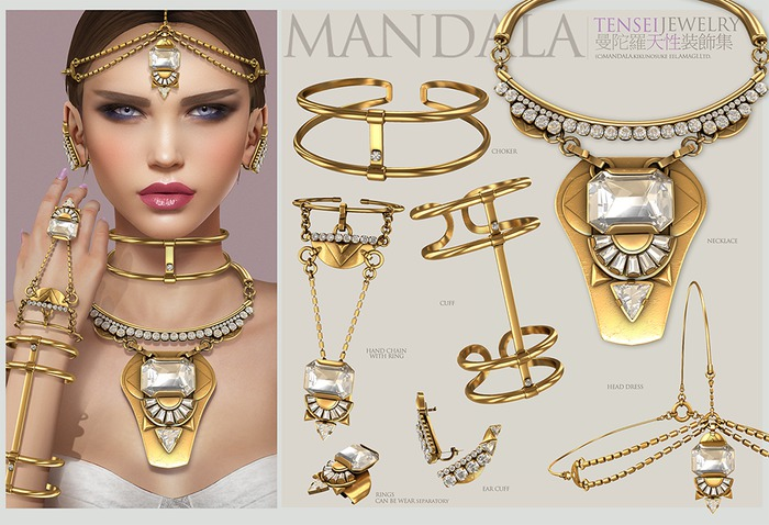 FATPACK[MANDALA]TENSEI jewelry set -wear ME to unpack!)
