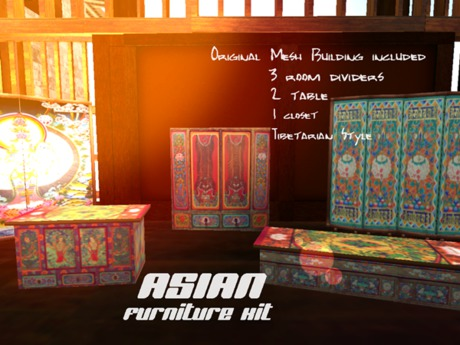 Asian Furni Kit