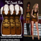 T7E: Strapped Dress - Browns