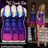 T7E: Strapped Dress - Gum