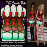 T7E: Strapped Dress - Watermelon v2