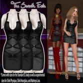 T7E: Strapped Dress - Shadows