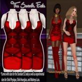 T7E: Strapped Dress - Reds
