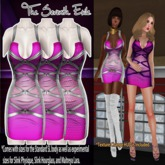 T7E: Strapped Dress - Pink Day