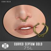 Contrax. - Curved Septum Gold