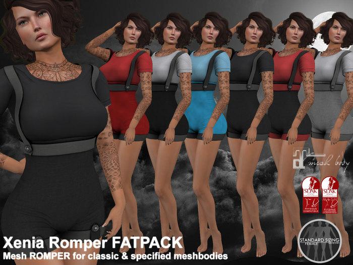 Xenia Romper FATPACK