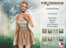 KiB Designs - Kamila Dress DEMO