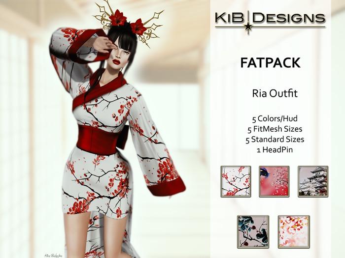 KiB Designs - Ria Mini Kimono FATPACK