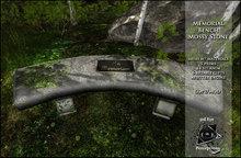 Memorial Stone Bench