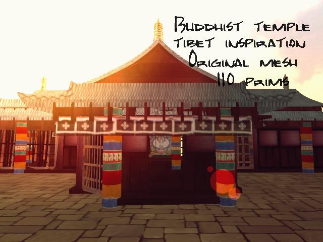 Tibet Temple 1