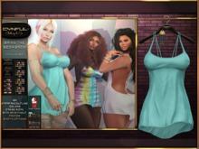 [Cynful] Bring The Sexy Back - Cyan [Maitreya Lara, Belleza (Isis, Freya + Venus), Slink (Physique + Hourglass)]