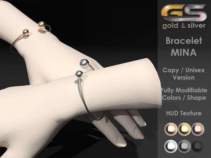 ~Gold & Silver~ Bracelet MINA [copy]