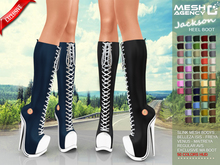 ::MA:: JACKSON Boot Heel Sneakers - PACK  {BOX V1}
