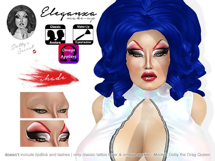 Dotty's Secret - Eleganza make-up - Red