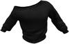 Shoulder sweater black for maitreya by beck 001 copy