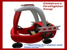 Children's FireFighter  Coup