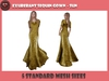 .::X::. - Exuberant Sequin Gown - Sun
