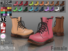 ::ROC:: Martens Boot! High (FEMALE)