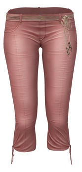*Just BECAUSE* Jen Capris - Pink - Maitreya,Belleza,Slink