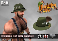 GMan Hat - Bavarian Hat with Gambast