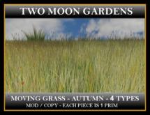 MOVING AUTUMN GRASS - 4 TYPES*