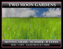 MOVING SUMMER GRASS - 4 TYPES*