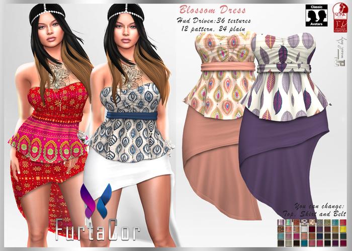 FurtaCor*Blossom Dress ::: Gift::::