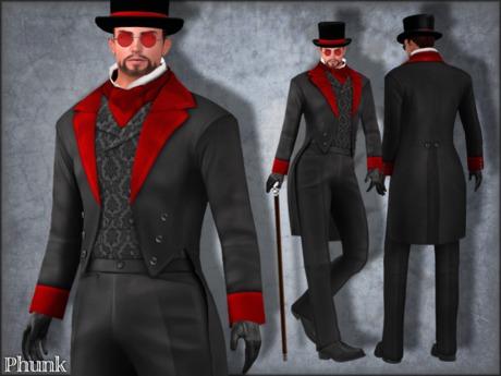 [Phunk] Gothic Tuxedo Outfit