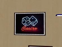 Picture - Casino Dice Neon Poker