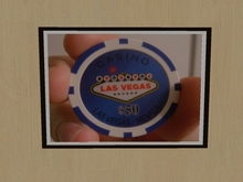 Picture - Poker Chip Sign