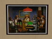 Picture - Dogs Playing Poker