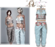 ::LFE;;Manon  outfit blue