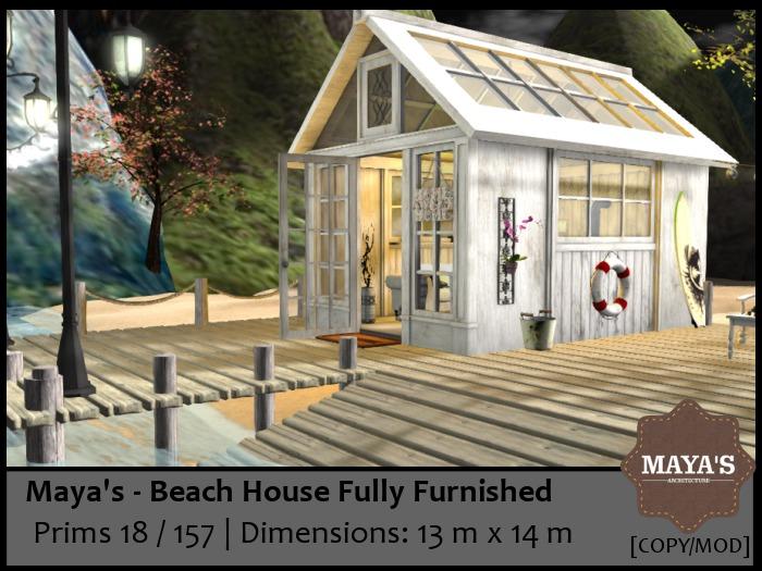 Maya's  - Beach House - FULLY FURNISHED