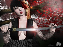 -RC- Sword Pose 001 (With Katana)