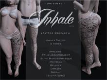 .Inhale.  Creeper -Leg Tattoo-