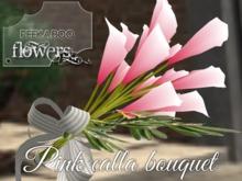 p-a-b pink calla bouquet