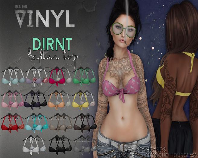 Vinyl - Dirnt Halter Pak PINK