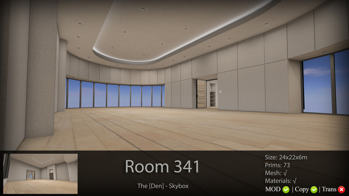 """Room 341 & """"Double Up""""  - The [Den.] Skybox 50% SALE"""