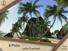 PROMO 8 palm 2 prims (40m) V1 .:JC:.